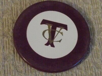 TVC CREST AND SEAL HOTEL CASINO gaming poker chip