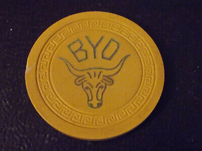 BYO HOTEL CASINO NO CASH VALUE SHOWN gaming poker chip