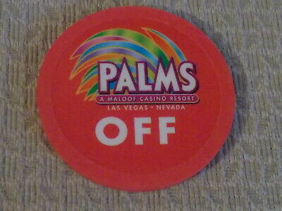 PALMS CASINO RESORT OFF/KILL hotel casino gaming poker chip ~ Las Vegas, NV
