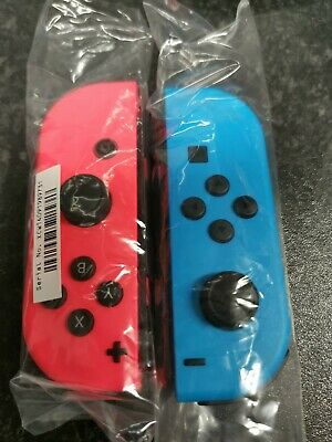 Official Nintendo Switch Joy-Con Controllers Pair Neon Red / Blue  