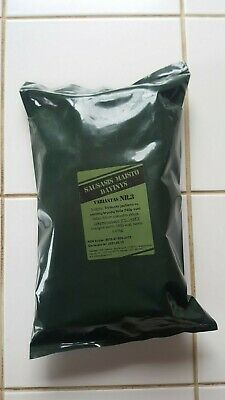 Lithuanian Army Food MRE Military Ration Daily Pack Survival Meal ALL VARIANTS