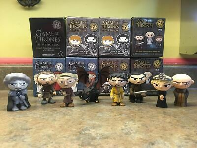 Game of Thrones Funko Pop Mystery Mini Lot of 8 with Boxes