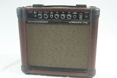 """Behringer AT108 Ultracoustic 15W  1/4""""/XLR Combo Guitar Amp USED  #R3165"""