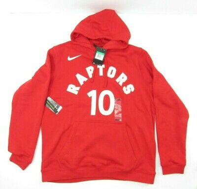 Nike Toronto Raptors DeRozan NBA Mens Basketball Pullover Red XL Hoodie New