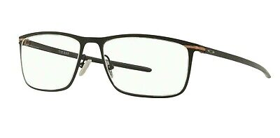 NEW Genuine OAKLEY TIE BAR Satin Black Titanium Eyeglasses Frame OX 5138 0155