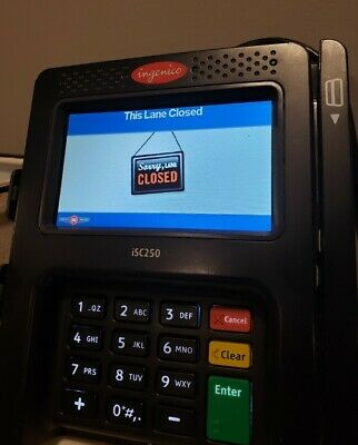 Ingenico iSC250 POS Touch Smart Credit Card Terminals TESTED & Working! NFC