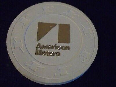 AMERICAN MOTORS $500 ADVERTISING casino gaming poker chip
