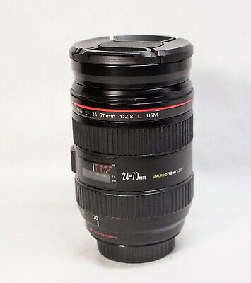 Canon EF 24-70mm f/2.8L USM Zoom Lens Scratches on Glass