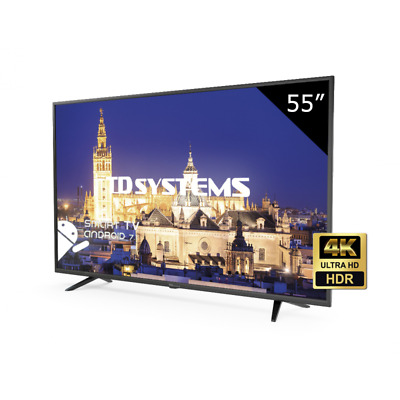 "TV 55"" Led Ultra HD 4K Smart TD Systems K55DLY8US-S [Outlet - Tara técnica]"