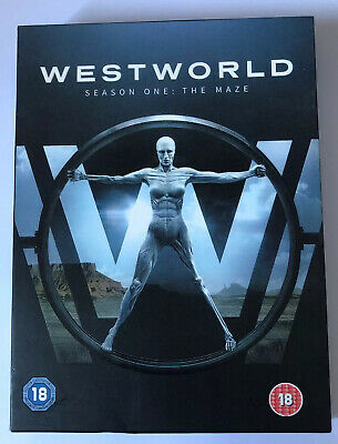 DVD TV Westworld Season 1 One The Maze Series 1 3 Disc with Slipcase