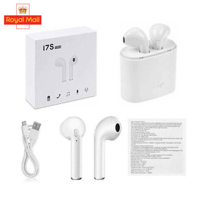 I7S TWS Wireless Headphones Earphones Earbuds new boxed For ANY Bluetooth Device