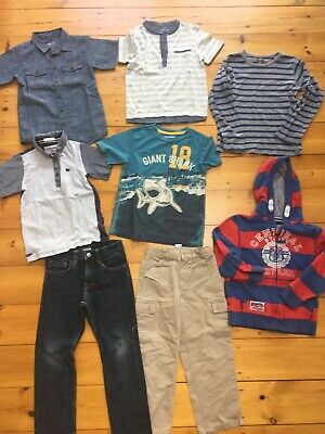 Boys Clothes Bundle Tops T Shirts Jeans Tops 5-6 Years