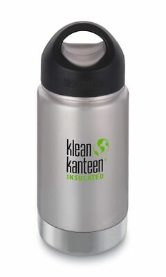 Klean Kanteen Wide Vacuum Insulated 12 oz (355 ml) mit Loop Cap Trinkflasche