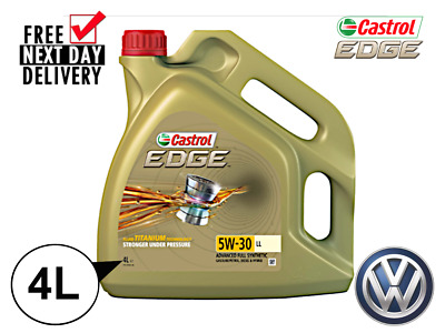 CASTROL EDGE 5W-30 4L LONGLIFE 3 Engine Oil **WAREHOUSE CLEARANCE**VW504/50700**