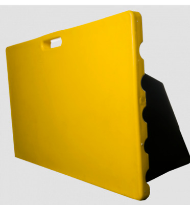 2M Bounce Boards For Football Training Brand New In Yellow With Back Supports