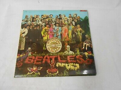 The Beatles SGT. Peppers lonely hearts club band record vinyl