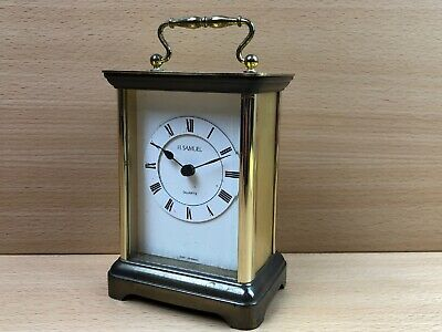 Vintage Quartz Travel Clock West Germany by H. Samuel - For parts or not working