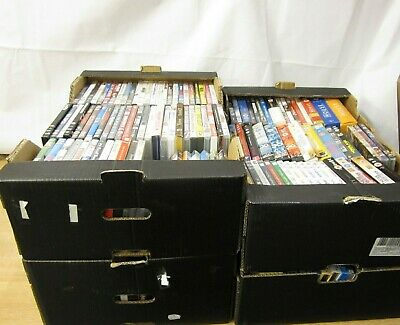 4 Crates of DVDs DVD Job Lot bundle for Collection LOT 1