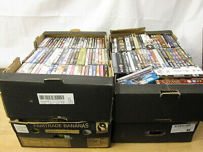 4 Crates of DVDs DVD Job Lot bundle for Collection LOT 2