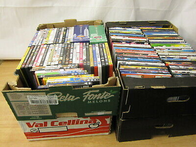4 Crates of DVDs DVD Job Lot bundle for Collection LOT 3