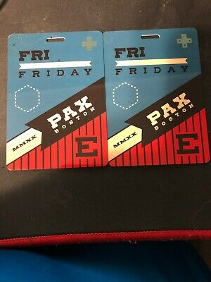 2 PAX EAST 2020 FRIDAY BADGE/PASS/TICKETS BOSTON Will ship within 24 hours.