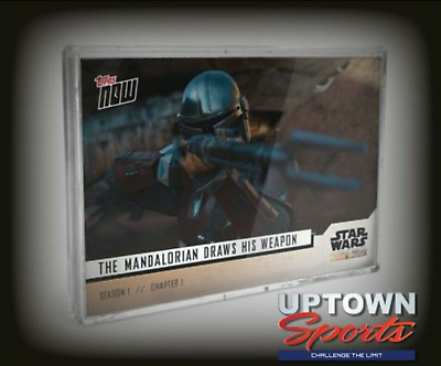 Star Wars: The Mandalorian TOPPS NOW® 5-Card Pack - S1:Chapter 1