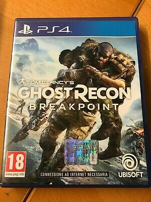 Sony Playstation 4 Ps4 Tom Clancy's Ghost Recon Breakpoint Pal Italiano ☆