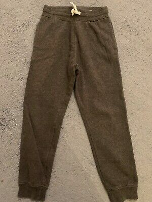 Boys H&M Grey Tracksuit Bottoms Size 9-10 years