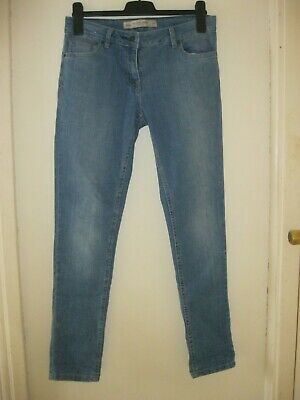 LADIES NEXT MID BLUE RELAXED SKINNY JEANS. Size 10R. BNWT.
