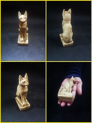 EGYPTIAN ANTIQUES ANTIQUITIES Bastet Cat Statue Figure Sculpture 1549-1088 BC