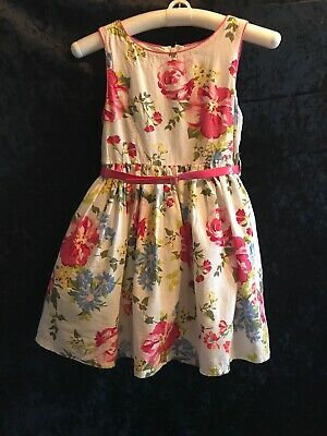 Girls Size 6x 7 Easter Holiday Special Occasion Dress Pink White Floral Lot 7