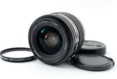[Near Mint] Minolta AF Zoom 24-50mm f/4 Lens for Sony/Minolta A From Japan