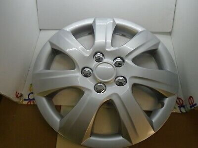 """centercaps - One Wheel Cover Hubcap Fits 2010-2011 Toyota Camry 16"""" Silver 7 Spo"""
