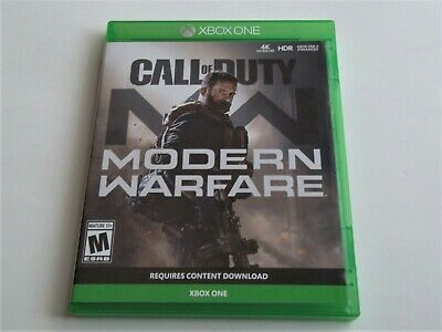 Call Of Duty - Modern Warefare - XBOX ONE 2019 - Very Good