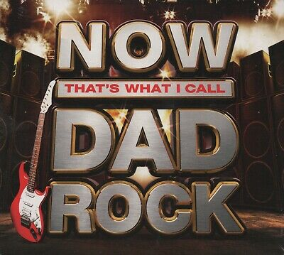 NOW THAT'S WHAT I CALL DAD ROCK - CD album (3 CDs, 59 tracks - New & sealed)