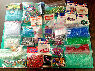 Darice Westrim Bugle Berry Bead Arts & Craft Supplies Jewelry Findings BIG Lot
