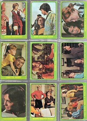 Lot Of 14-1971 Topps Partridge Family Trading Cards- Green Border-B Series