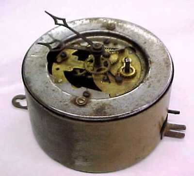 Wall Clock Movement, Case & Hands - Germany - Working Condition