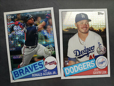 2020 Topps Series 1 Silver Pack Promo 1985 Topps Chrome Singles W/ Rc You Pick