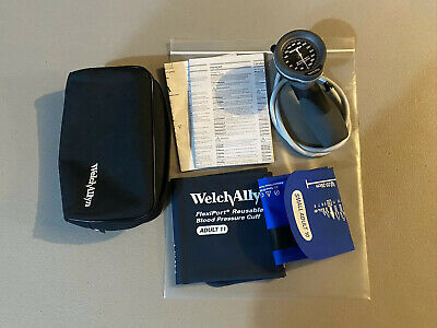 Welch-Allyn Tycos DS66 Hand Aneroid Sphygmomanometer w/ FlexiPort BP Cuffs #9