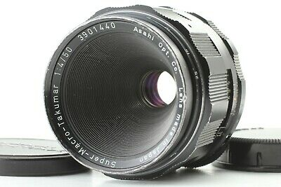 [EXC+++++] Pentax Macro Takumar 50mm f/4 M42 Mount Asahi MF Lens from Japan
