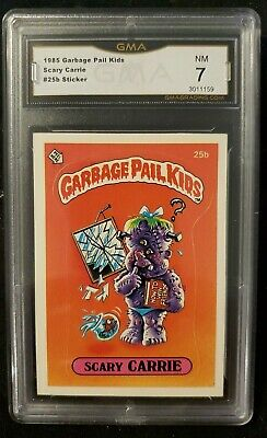 Garbage Pail Kids Series 1 Card #25b Scary Carrie Matte  GMA NEAR MINT
