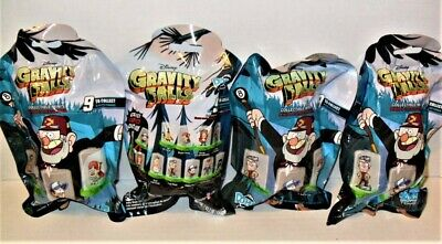 Domez Disney Gravity Falls Series 2 Lot Of (4) Random Packs New