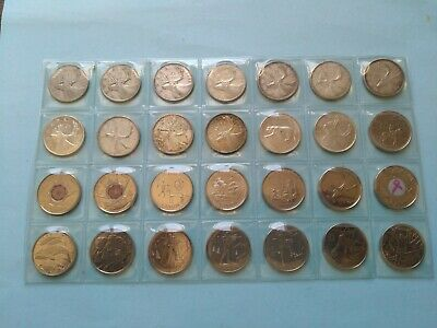 Collection of 28 Different Quarters (25c) From 1943-2013, No Reserve! (Lot #2)