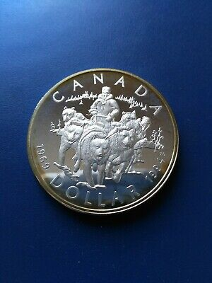 1994 Canadian Silver Dollar ($1), No Reserve!