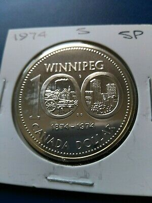 1974 Canadian Silver Dollar ($1), No Reserve!