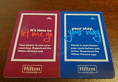 Hilton Manilow Music and Passion Las Vegas USA-00559 Hotel Key Card
