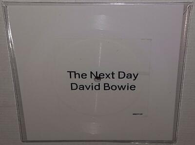 "David Bowie The Next Day (2013) Brand New Ultra Rare 7"" Square White Vinyl Lp"