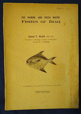 The Marine and Fresh Water Fishes of Iraq by Kamel T. Khalaf (1961)