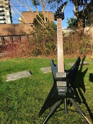 Jackson Warrior WRMG Black MIJ 1st edition EMG HZ